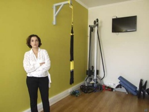 """RUTE COUTO: """"É positiva urna rnudança de estilo de vida, com a introdução do exercício físico"""""""