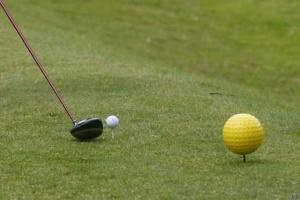 Golfe e saúde de mãos-dadas